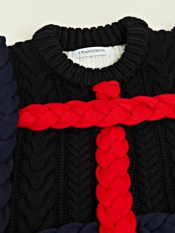 J.W.Anderson Men's Braided Cable Knit Jumper | LN-CC