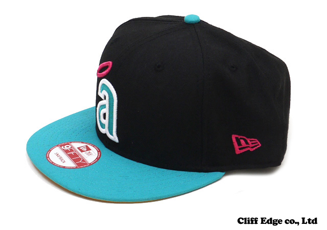 【楽天市場】NEW ERA LOS ANGELES ANGELS OF ANAHEIM SNAPBACK [CAP][スナップバック] BLACKxTURQUOISE 2100901+【新品】【あす楽対応】:Cliff Edge