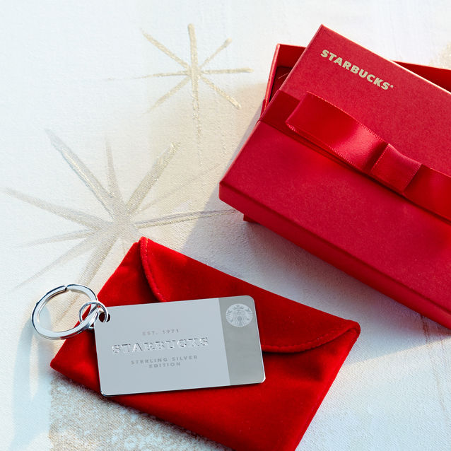 Limited-Edition Sterling Silver Starbucks Card | Starbucks® Store