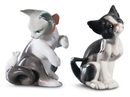 Kitty Cats by Lladro | Spanish Figurines