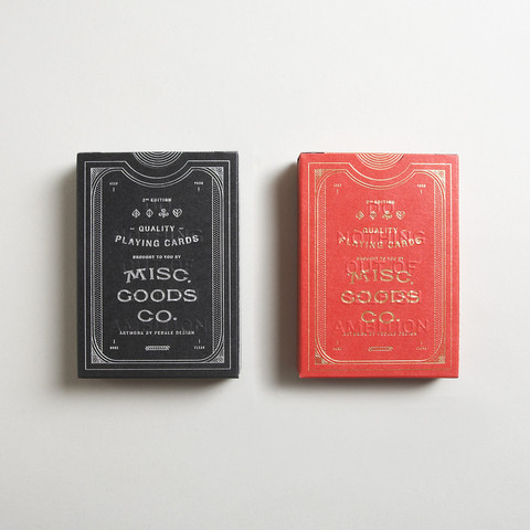 Playing Cards by Misc. Goods Co. | Goods | The Ghostly Store