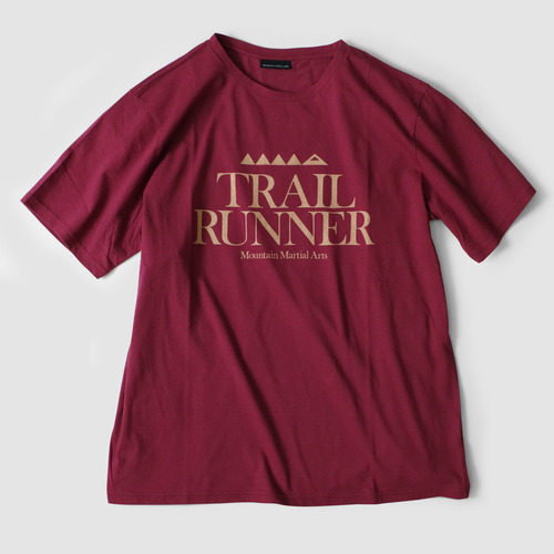 MMA Trail Runner Tee (Wine) | Mountain Martial Arts General Store
