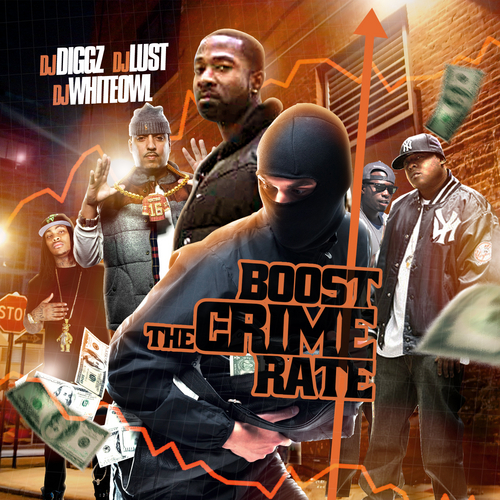 Various Artists - Boost The Crime Rate Hosted by DJ Diggz, DJ Lust & DJ Whiteowl // Free Mixtape @ DatPiff.com