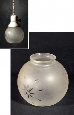 1940-50's【Frosted Glass】 Shade - FUNNY SUPPLY