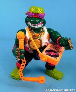 Retro Toy Review: Rappin' Mike (Playmates TMNT)