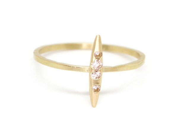 Seed Quill Stacking Ring « Polly Wales