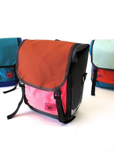 Mini Roll Top Panniers from Swift Industries | handmade bicycle panniers and accessories