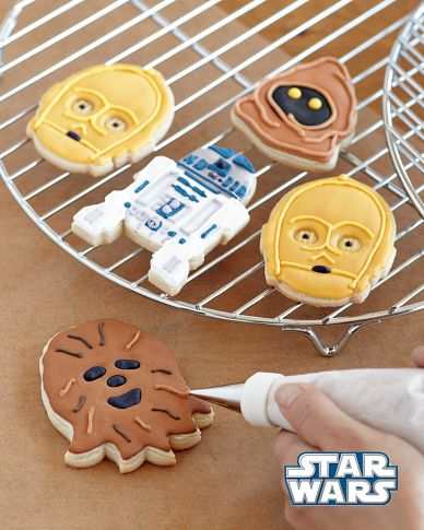 Star Wars™ Droids & Aliens Cookie Cutters, Set of 4 | Williams-Sonoma