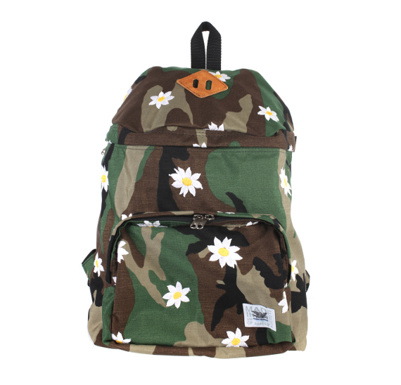 Mark McNairy ? Flowers & Camouflage Backpack | FreshnessMag.com