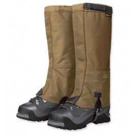 My One Supply Outdoor Research Expedition Crocodiles Gaiters Gore-tex Military Coyote Brown Small