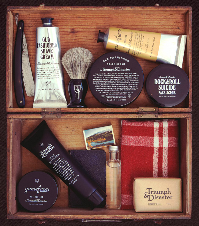 Triumph & Disaster Grooming Products
