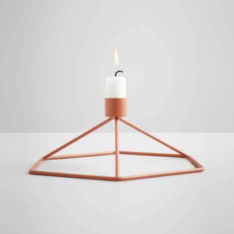 POV candle holders by Note Design Studio for Menu