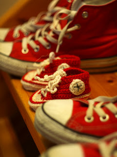 Crochet For Free: Crochet Baby Converse