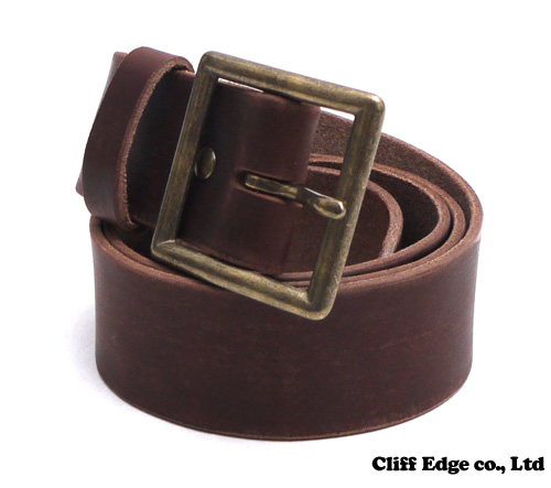 【楽天市場】NEIGHBORHOOD GARRISON.SOLID/CL-BELT(レザーベルト) BROWN 284-000330-016-【新品】【smtb-TD】【yokohama】:Cliff Edge