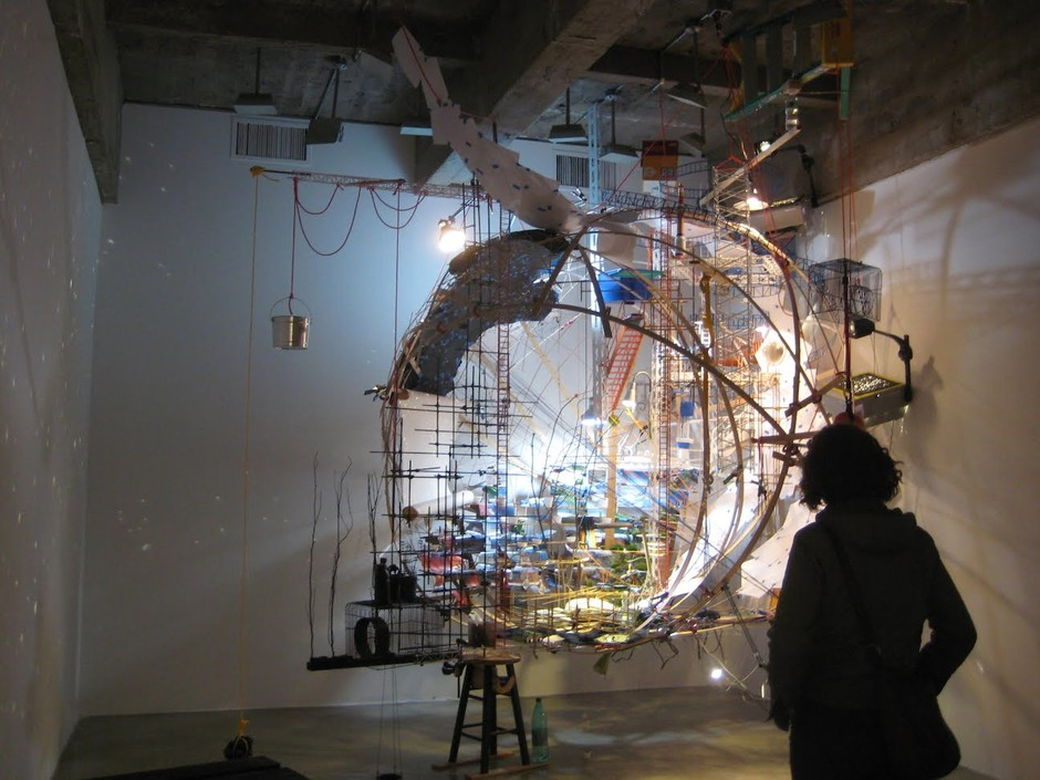 Research: NYC Trip:Sarah Sze
