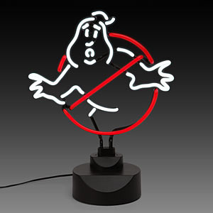 "ThinkGeek :: Ghostbusters 12"" Neon Sign"