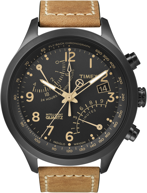 Timex Fly-back Chronograph 'Intelligent Quartz' Watch | Por Homme - Men's Lifestyle, Fashion, Footwear and Culture Magazine