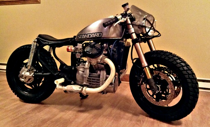 Garage Project Motorcycles - Opened facebook and saw a message from Adam with a...