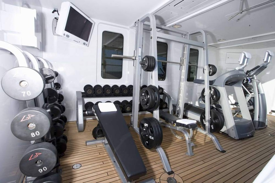 Gym Image Gallery - Luxury Yacht Gallery Browser