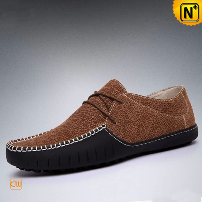 Mens Pebble Leather Driving Moccasins CW740102