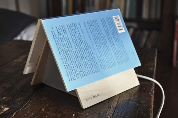 Late Mate bookmark lamp by Luca Cozzi | Home Chunk