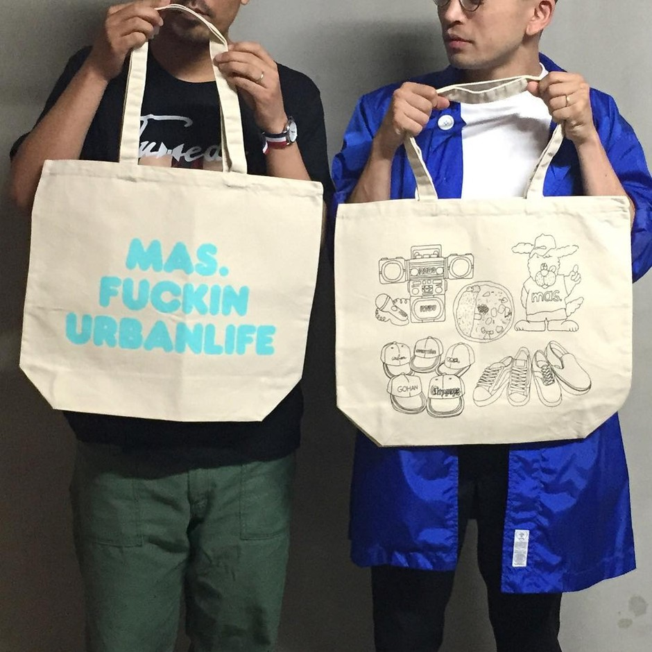 Anoraks×MAS. LIFE IS JOURNEY TOTE | MAS.