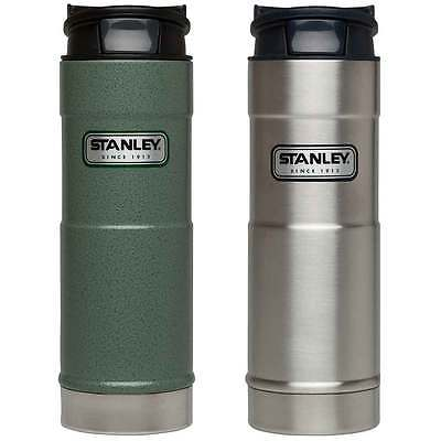 Stanley Insulated One Hand Vacuum Mug 2P Set Green Stainless Steel 16oz 473ml 041604275456 | eBay