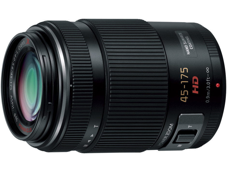 価格.com - LUMIX G X VARIO PZ 45-175mm/F4.0-5.6 ASPH./ POWER O.I.S. H-PS45175-K [ブラック] の製品画像