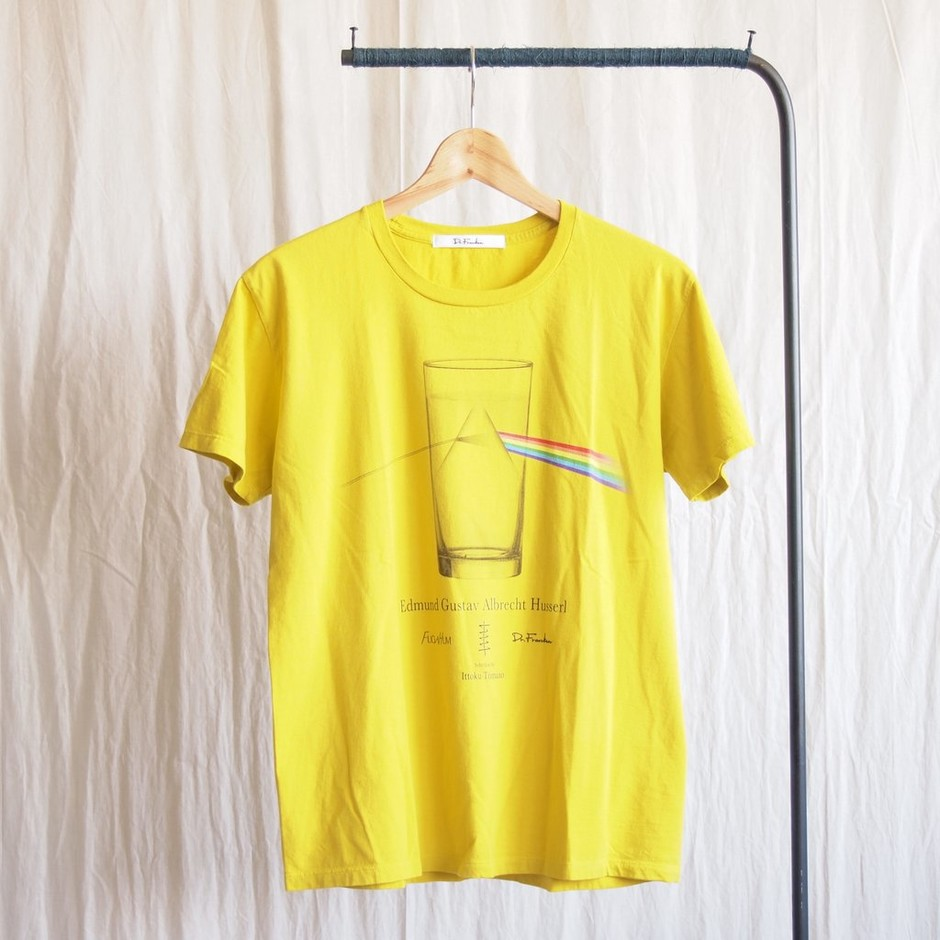 Dr.FRANKEN - Husserl T-shirt #yellow