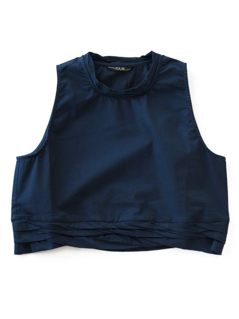 LOVE online store WOMEN   P.A.M. Gravity Cropped Top (navy)