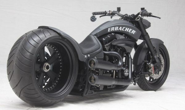 The One Motorcycle by Fat Attack Custom Bikes and H&R | Great Motocycles