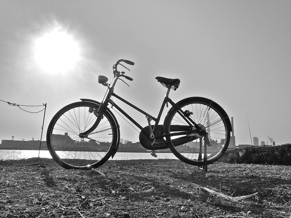 bicycle Silhouette2 | Flickr - Photo Sharing!