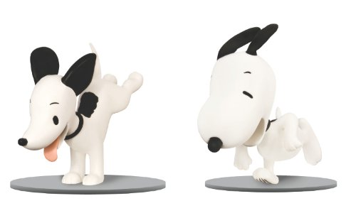 Amazon.co.jp: Snoopy Then and Now Figure Set: Dark Horse Deluxe: 洋書