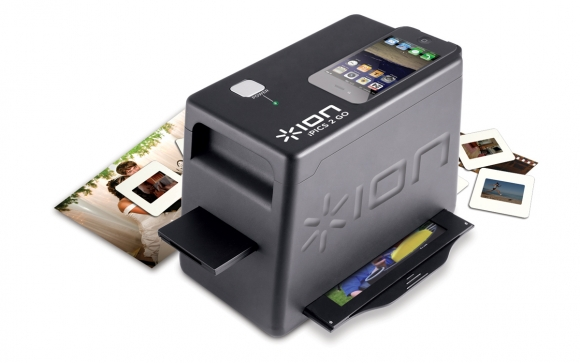 iPICS 2 GO - Photo, Slide and Negative Scanner for iPhone 4 & iPhone 4S - ION Audio