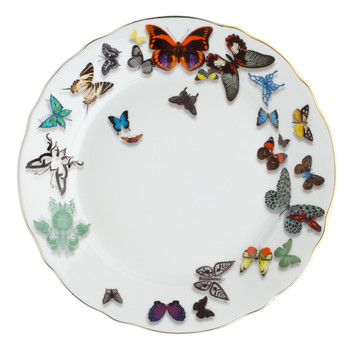Christian Lacroix Butterfly Parade Dinner Plate | Plates | £51.00 at Amara
