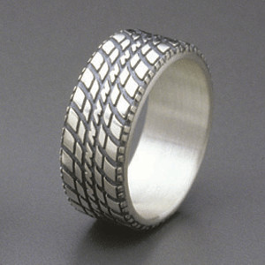 Car Tire, Style 01 ‹ Car and Truck Tire Rings® ‹ Products - Brian Bergeron Designs