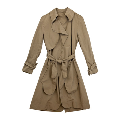 Slow and Steady Wins the Race — Trenchcoat in Khaki