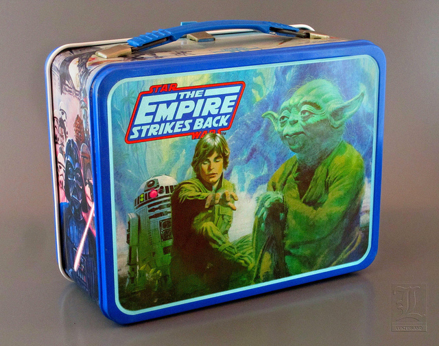 Star Wars THE EMPIRE STRIKES BACK Lunch box - back | Flickr - Photo Sharing!