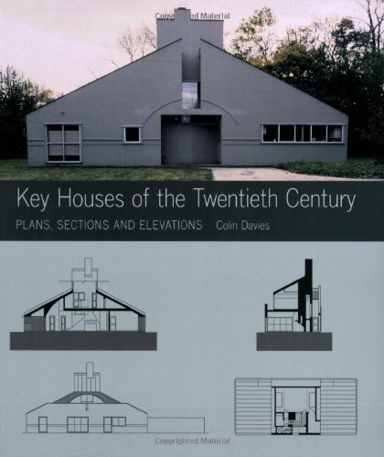Amazon.co.jp: Key Houses of the Twentieth Century: Plans, Sections, And Elevations (Norton Book for Architects and Designers): Colin Davies: 洋書