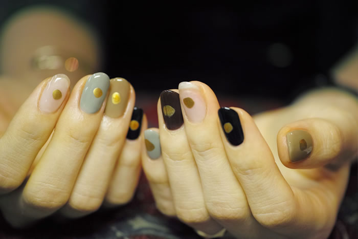 NAIL-COMMON: [秋色]one color nail