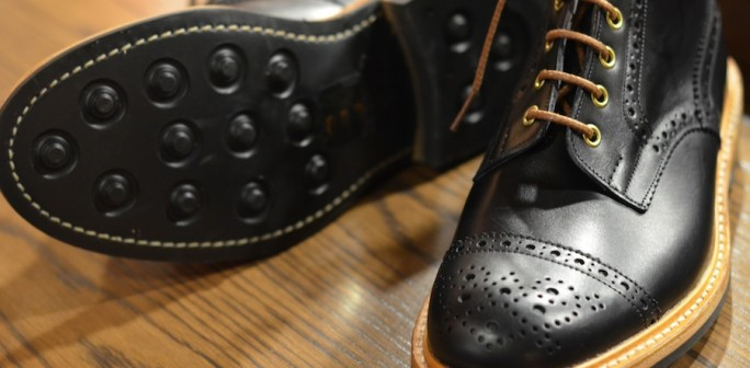 Tricker's – Black Eaton (LSW) | Leather Soul