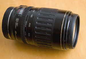 Canon 100-300 lens test and review