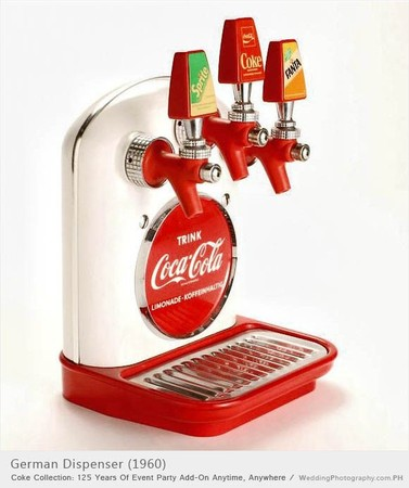 German Coke Dispenser, c. 1960.
