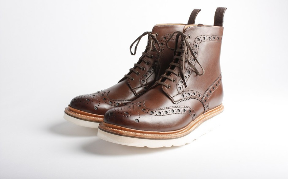 Men's shoes, Fred Boots, Black Boots, Leather Boots, Grenson Boots.