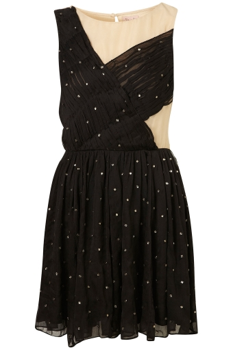 【LASO】【新作★円高還元】TOPSHOP Diamante Pinspot Prom Dress By Dress Up Topshop** トップショップ