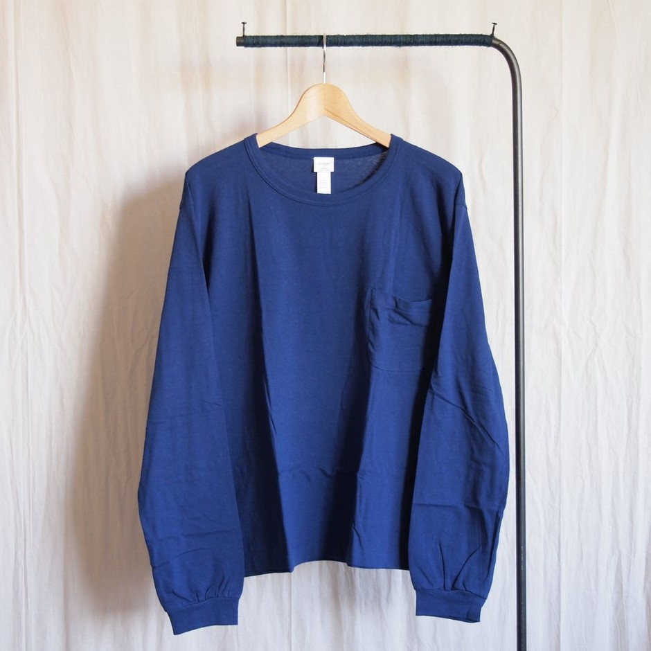 YAECA - Big L/S #blue
