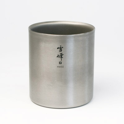 Canoe: Titanium Double Walled Cup