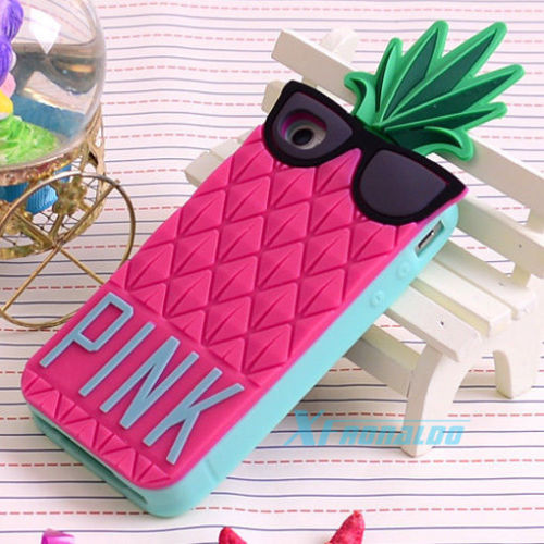 2014 New Hot Cute 3D Victoria's Secret Pineapple Case Cover for iPhone 4 4S 5 5S | eBay