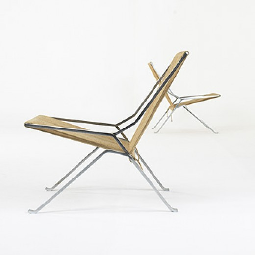 208: Poul Kjaerholm / PK 25 lounge chairs, pair < December Design Series, 03 December 2006 < Auctions | Wright