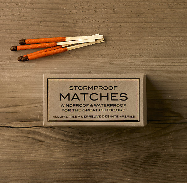 Stormproof Matches | Avid Angler | Restoration Hardware